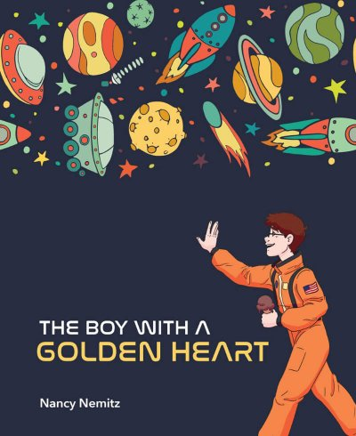 The Boy With A Golden Heart Book